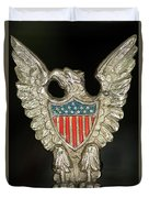 American Metal Eagle Duvet Cover