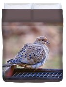 American Mourning Dove Duvet Cover