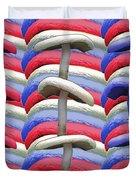 American Mushrooms Duvet Cover