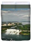 American Niagara Falls #2 Duvet Cover