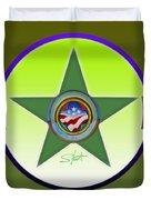 American Olive Duvet Cover