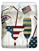 American Party Duvet Cover