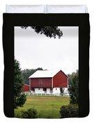 American Red Barn II Indiana Duvet Cover