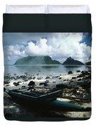 American Samoa Duvet Cover
