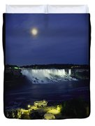 American Side Of Niagara Falls, Seen Duvet Cover