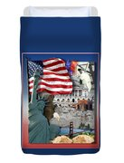 American Symbolicism Duvet Cover