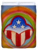 American Three Star Landscape Duvet Cover