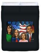 America's First Family Duvet Cover