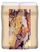 Amethyst And Copper 1 Duvet Cover