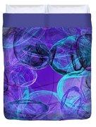 Amethyst Gems Stones Duvet Cover