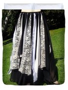 Ameynra Fashion Gothic Skirt With Lace Duvet Cover