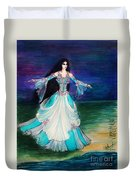 Ameynra. Night Dance Before Wedding Duvet Cover