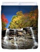 Amicalola Falls Duvet Cover