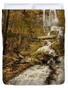 Amicola Falls Gushing Duvet Cover