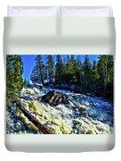 Amincon River Rootbeer Falls Duvet Cover