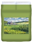 Amish Country Farm Warrens Duvet Cover