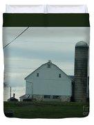 Amish Dairy Farm Duvet Cover