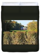 Amish Farm Country Fall Duvet Cover