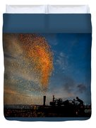 Amish Fireworks Duvet Cover