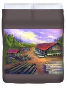 Amish Lumbermill Duvet Cover