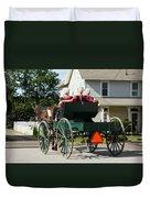 Amish Women Duvet Cover
