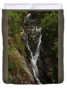 Ammonoosuc Ravine Falls Duvet Cover