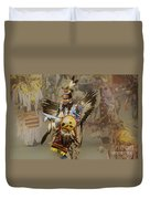 Pow Wow Among Friends Duvet Cover