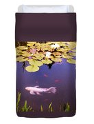 Among The Lilies Duvet Cover