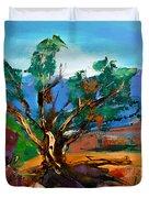Among The Red Rocks - Sedona Duvet Cover