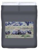 Among The Vultures 2 Duvet Cover