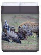 Among The Vultures 3 Duvet Cover