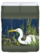 Among The Weeds Duvet Cover