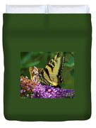 Amorous Butterfly And Faerie Duvet Cover