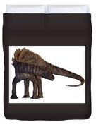 Ampelosaurus Armored Dinosaur Duvet Cover