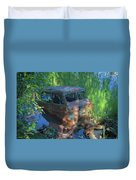 Amphibious Vehicle Duvet Cover
