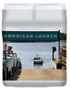 Amphicar Launch Duvet Cover