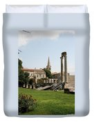 Amphitheater Ruins - Arles - France Duvet Cover