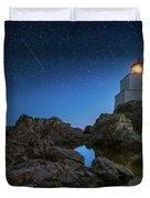 Amphitrite Point Lighthouse Duvet Cover