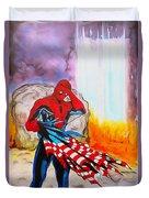 Ams 9/11 Tribute Illustration Edition Duvet Cover