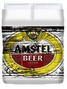 Amstel Beer Sign  Duvet Cover