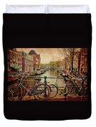 Amsterdam Canal Duvet Cover