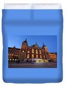 Amsterdam Central Station Duvet Cover