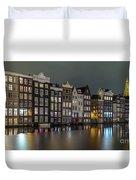 Amsterdam City Lights Duvet Cover