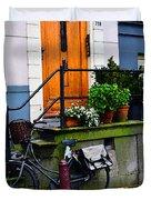 Amsterdam Door Duvet Cover