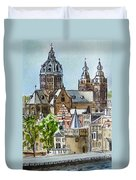 Amsterdam Holland Duvet Cover