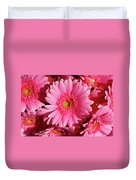 Amsterdam In Pink Duvet Cover