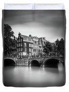 Amsterdam, Leliegracht Duvet Cover