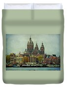Amsterdam Skyline Duvet Cover