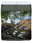 Amsterdam Spring - Fancy Brickwork Glow - Right Horizontal Duvet Cover
