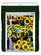 Amsterdam Sunflowers Duvet Cover